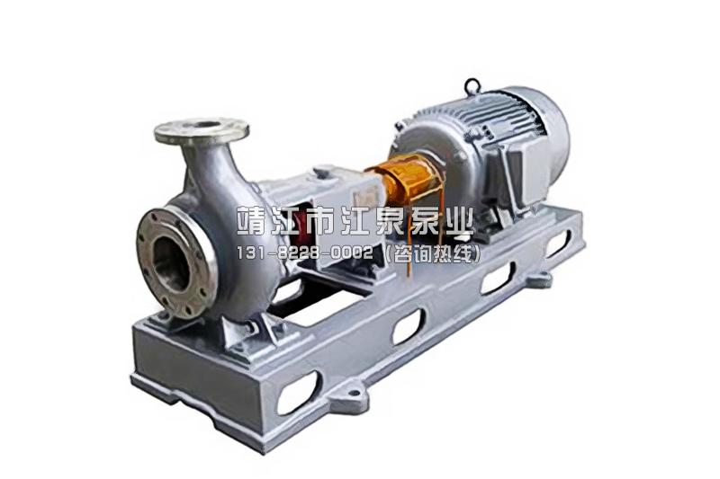 离心泵的类型和它的应用范围